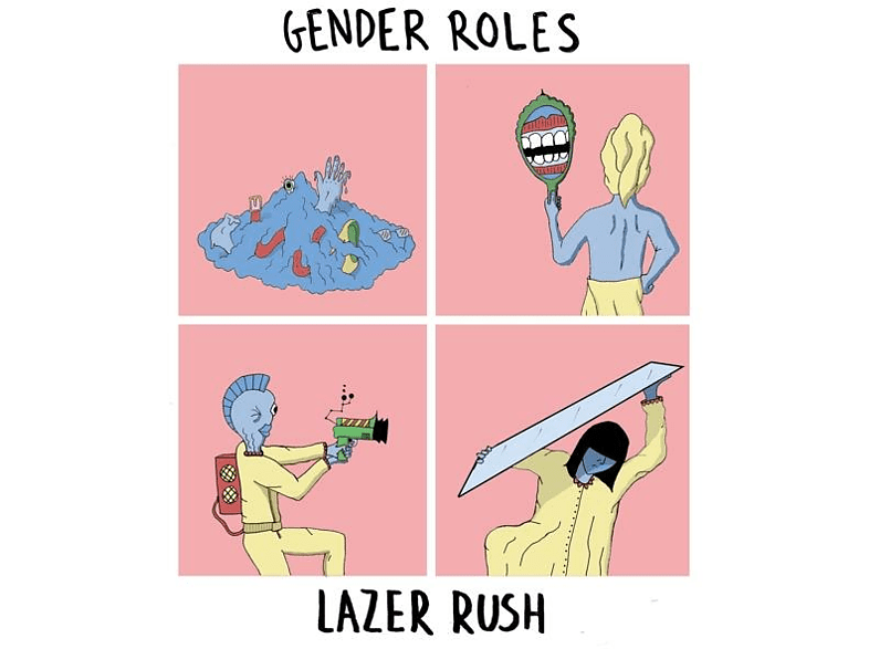 Gender Roles - Lazer Rush (7 Inch) [Vinyl]