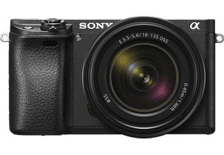 SONY Alpha 6300 Kit Systemkamera 24.2 Megapixel mit Objektiv 18-135 mm f/5.6, 7.5 cm Display