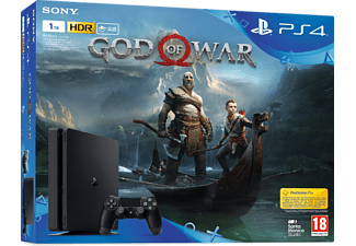 SONY Playstation 4 Slim1TB E + God of War Konsol