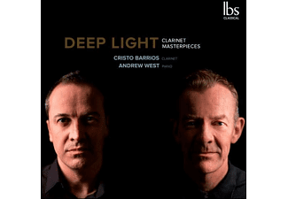 Cristo Barrios, Andrew West - Deep Light - Clarinet Masterpieces - (CD)