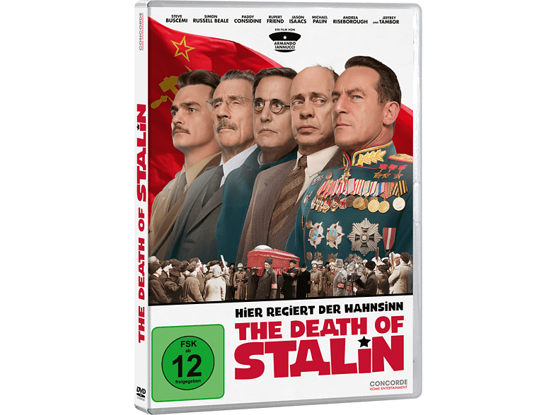 The Death of Stalin [DVD]