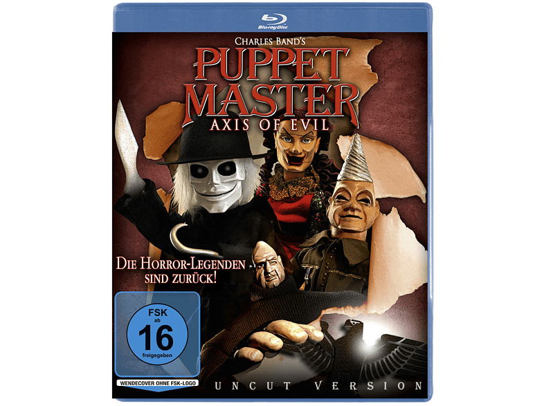 Puppet Master - Axis of Evil [Blu-ray]