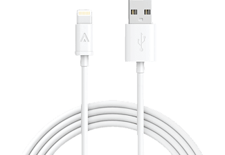ANKER Premium USB Lightning Kabel USB Lightning Kabel, passend für Apple iPhone 6s / 6s plus / 6 / 6 Plus / 5s / 5c / 5, iPad Air / Air 2, iPad mini / mini 2 / mini 3, iPad (4th Generation), iPod nano (7th Generation), und iPod touch (5th Generation), weiss