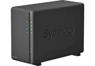 NAS - Synology DS218PLAY, 2 Bahías, 1.4 GHz, OC, 1GB