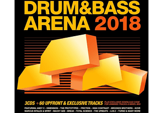 Drum & Bass Arena 2018 CD