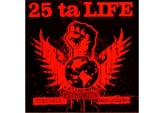 25 Ta Life - Strength Integrity Brotherhood (Red Edit.) - (CD)