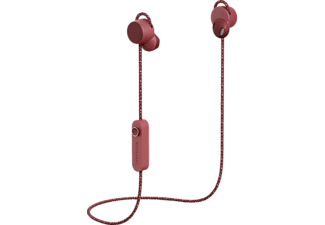 URBANEARS Jakan, In-ear Kopfhörer, Headsetfunktion, Bluetooth, Rot