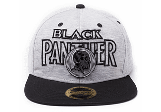 Marvel Snapback Cap Black Panther Metall Badge