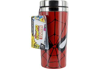 PALADONE PRODUCTS Marvel Comics Spiderman Reisebecher 450ml Reisebecher, Rot