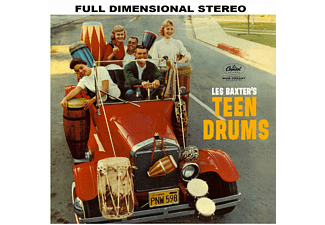 Les Baxter - Teen Drums+Young Pops [CD]
