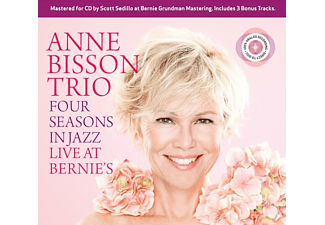 Anne Bisson, Anne Bisson Trio - Four Seasons In Jazz-Live At Bernie's - (CD)