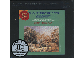 Erick Friedman - Violin Showpieces-Ultimate HQ CD - (CD)