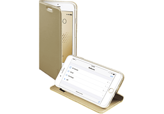 SBS MOBILE Book Case with Stand Function till iPhone 6/6S/7/8 - Guld