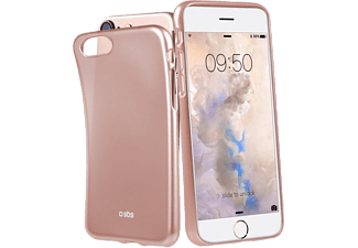 SBS MOBILE Extra Slim Cover till iPhone 6/6S/7/8 - Rosa