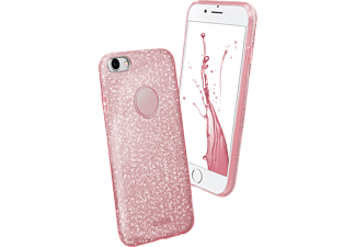 SBS MOBILE Sparky Glitter Cover till iPhone 7/8 - Rosa
