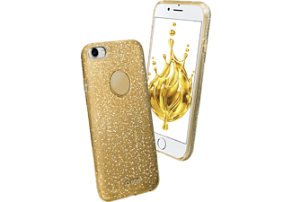 SBS MOBILE Sparky Glitter Cover till iPhone 7/8 - Guld
