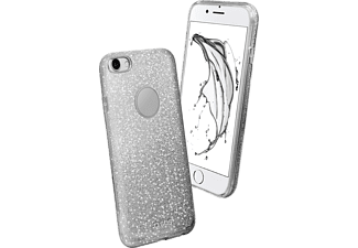 SBS MOBILE Sparky Glitter Cover till iPhone 7/8 - Silver