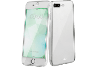 SBS MOBILE Crystal 360° Cover till iPhone 7/8 Plus - Transparent