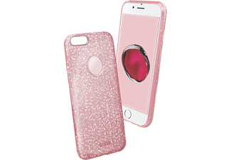 SBS MOBILE Sparky Glitter Cover till iPhone 7 Plus/8 Plus - Rosa