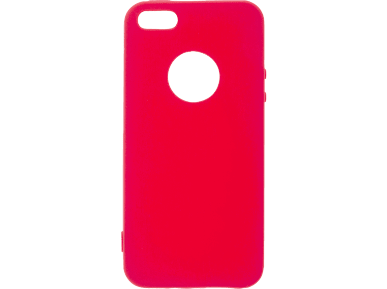 V-DESIGN VMT 020 , Backcover, Apple, iPhone 5/iPhone 5S/iPhone SE, Thermoplastisches Polyurethan, Rot