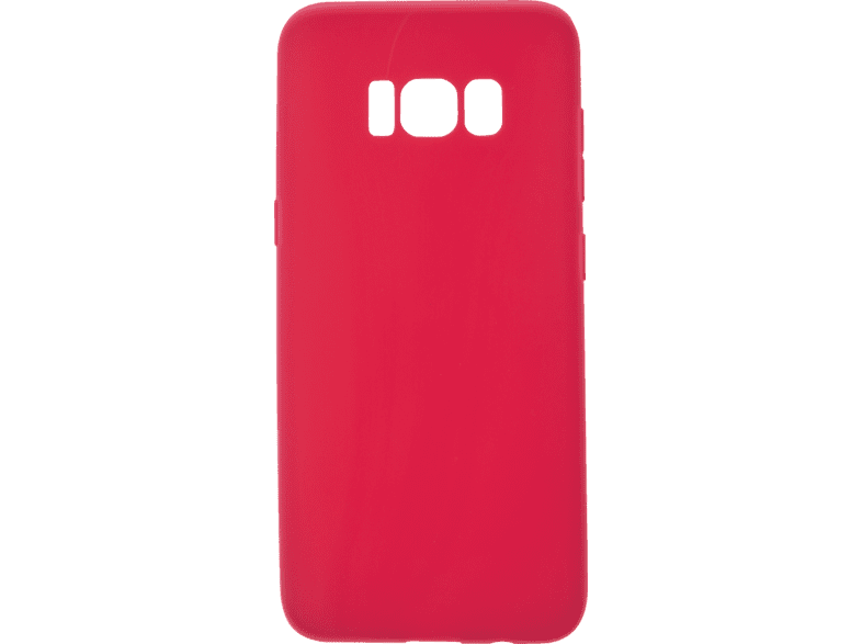 V-DESIGN VMT 139 , Backcover, Samsung, Galaxy S8, Thermoplastisches Polyurethan, Rot