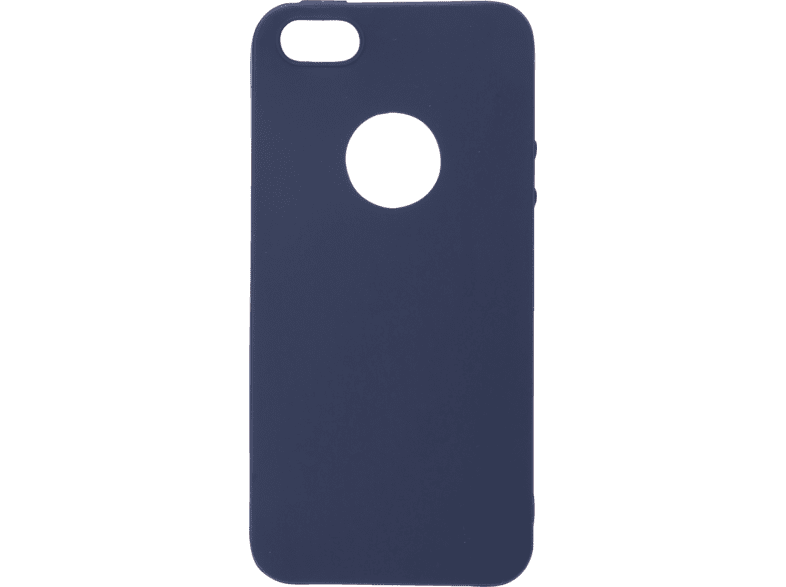V-DESIGN VMT 016 , Backcover, Apple, iPhone 5/iPhone 5S/iPhone SE, Thermoplastisches Polyurethan, Blau
