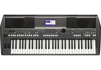 YAMAHA PSR-S670 Digital Keyboard, Metallic Dark Gray