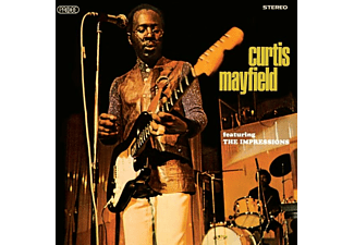 Curtis Mayfield - Feat The Impressions - (CD)