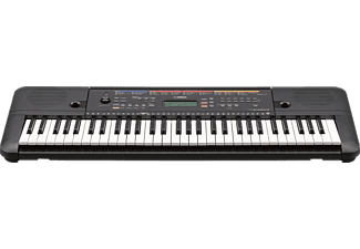 YAMAHA PSR-E263 Digital Keyboard, Schwarz