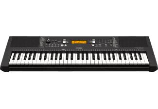 YAMAHA PSR-E363 Digital Keyboard, Schwarz