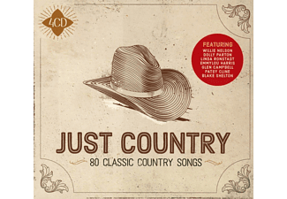 VARIOUS - Just Country - (CD)