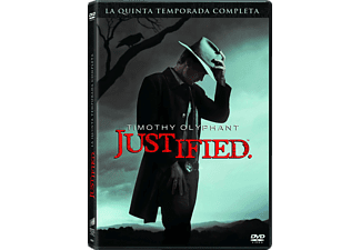 Tv Justified T5 (Dvd)