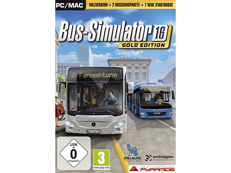 Bus-Simulator 16 - Gold Edition [PC]