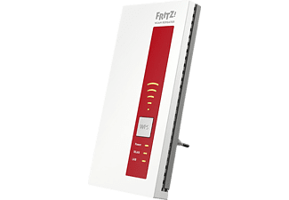 AVM FRITZ!WLAN Repeater 1750E WLAN-Repeater, Weiß/Rot