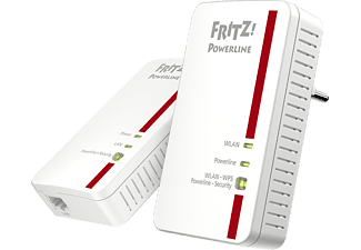AVM FRITZ!Powerline 1240E WLAN Set, Powerline-Set, WLAN Access Point
