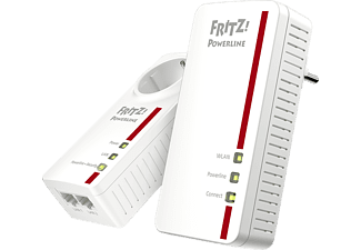 Powerline Adapter AVM FRITZ!Powerline 1260E 1200 Mbit/s Kabellos und Kabelgebunden