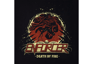 Enforcer - Death By Fire (Bone Vinyl,Poster,Cardboard) - (Vinyl)
