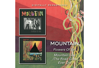 Mountain - Flowers Of Evil/Mountain - (CD)