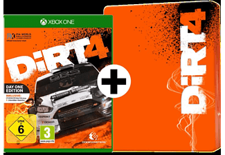 Dirt 4 - Day One Edition inkl. Steelbook Hülle - Xbox One