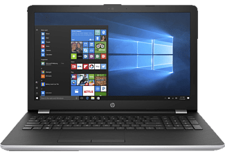 HP 15-bs176ng, Notebook mit 15.6 Zoll Display, Core™ i7 Prozessor, 4 GB RAM, 1 TB HDD, 128 GB SSD, Radeon 530, Silber/Schwarz