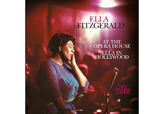 Ella Fitzgerald - Ella Fitzgerald: At The Opera House/Ella In Hollywood - (CD)