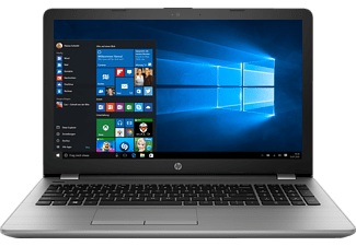 HP 250 G6, Notebook mit 15.6 Zoll Display, Intel® Core™ i3 der sechsten Generation Prozessor, 8 GB RAM, 256 GB SSD, Intel HD Graphics 520; Nicht verfügbar; Nicht verfügbar, Silber