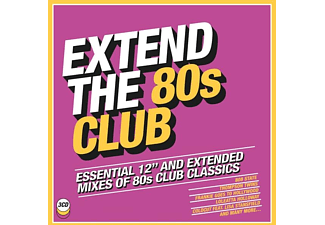 VARIOUS - Extend the 80s-Club - (CD)