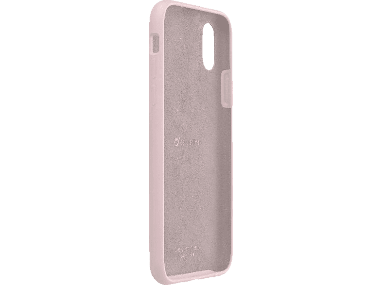 CELLULAR LINE  SENSATION Backcover Apple iPhone X Silikon Pink | 08018080317187