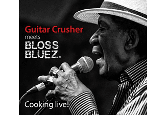 Guitar Crusher Meets Blossbluez - Cooking Live - (CD)