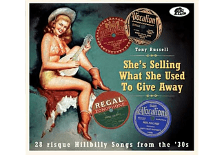 VARIOUS - She's Selling What She Used To Give Away - (CD)