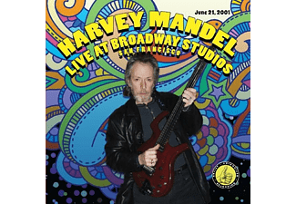 Harvey Mandel - Live At Broadway Studios - (CD)