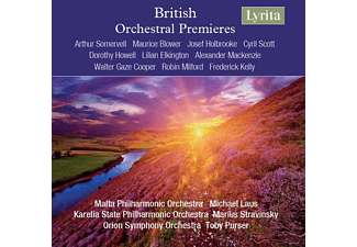 Malta PO/Karelia State PO/Orion SO - British Orchestral Premieres [CD]