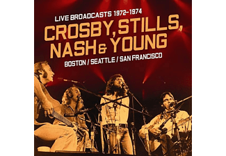 Crosby, Stills, Nash & Young - Live Broadcasts 1972-1976 - (CD)