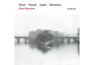 Duo Gazzana - Ravel/Franck/Ligeti/Messiaen - (CD)